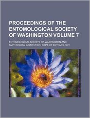 Proceedings Of The Entomological Society Of Washington (Volume 7) - Entomological Society Of Washington