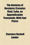 The Anatomy of Hemiurus Crenatus (Rud.) Lhe, an Appendiculate Trematode; With Four Plates
