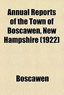 Annual Reports of the Town of Boscawen, New Hampshire (1922)
