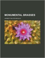 Monumental brasses - Herbert Walter Macklin