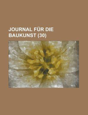 Journal Fur Die Baukunst (30)
