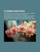 Flemish writers
