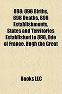 898: List of State Leaders in 898,