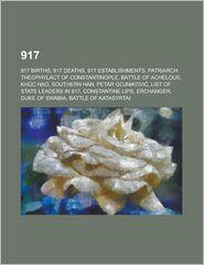 917 - Books Llc (Editor)