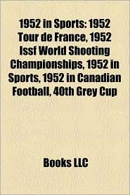 1952 In Sports - Books Llc