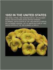 1952 In The United States - Books Llc