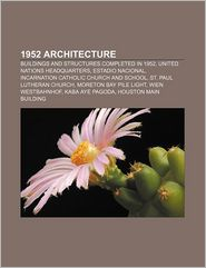 1952 Architecture - Books Llc