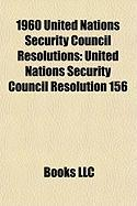 1960 United Nations Security Council Resolutions: United Nations Security Council Resolution 156