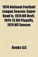 1974 National Football League Season: 1974 NFL Draft