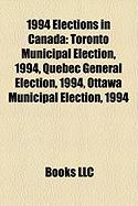 1994 Elections in Canada: Toronto Municipal Election, 1994