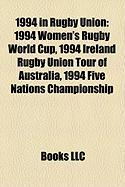 1994 in Rugby Union: 1994 Women's Rugby World Cup