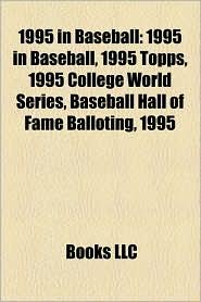 1995 In Baseball - Books Llc