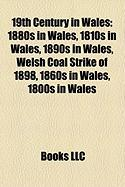 19th Century in Wales: 1880s in Wales