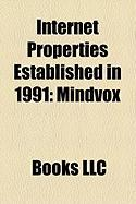 Internet Properties Established in 1991: Mindvox, Killer List of Videogames, Allmusic, Adventure Gamers, World Wide Web Virtual Library