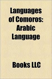 Languages Of Comoros - Books Llc