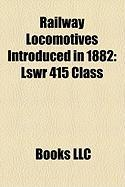 Railway Locomotives Introduced in 1882: Lswr 415 Class