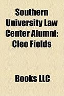 Southern University Law Center Alumni: Cleo Fields