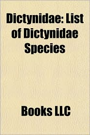 Dictynidae: List of Dictynidae Species