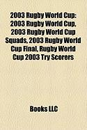 2003 Rugby World Cup: 2003-2004 Canadian Network Television Schedule