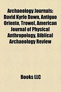 Archaeology Journals: David Kyrle Down