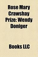 Rose Mary Crawshay Prize: Wendy Doniger