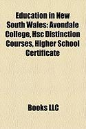 Education in New South Wales: Avondale College