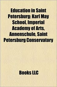Education In Saint Petersburg - Books Llc