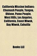 California Mission Indians: Ohlone