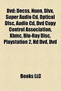 DVD: Decss, Nuon, DIVX, Super Audio CD, Optical Disc, DVD Copy Control Association, Xbmc, Blu-Ray Disc, PlayStation 2, HD D
