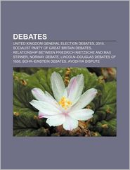 Debates - Books Llc