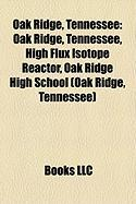 Oak Ridge, Tennessee: High Flux Isotope Reactor