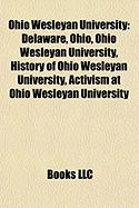 Ohio Wesleyan University: Nancy Cartwright