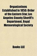 Organizations Established in 1850: Los Angeles County Sheriff's Department