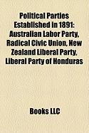 Political Parties Established in 1891: Australian Labor Party