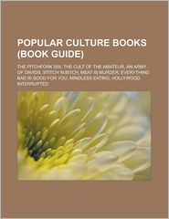 Popular Culture Books - Books Llc