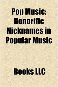 Pop Music - Books Llc