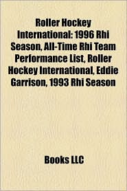 Roller Hockey International - Books Llc