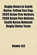 Rugby Union in South Korea: Yellow Sea Cup