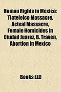 Human Rights in Mexico: B. Traven