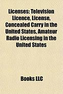 Licenses: Television Licence