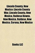 Lincoln County, New Mexico: Lincoln County War