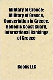 Military Of Greece - Books Llc
