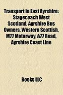 Transport in East Ayrshire: Stagecoach West Scotland
