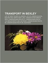 Transport In Bexley