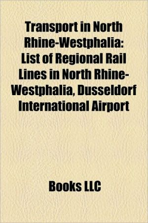 Transport in North Rhine-Westphalia: Railway lines in North Rhine-Westphalia, Railway stations in North Rhine-Westphalia, Rhine-Ruhr S-Bahn