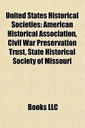United States Historical Societies: American Historical Association