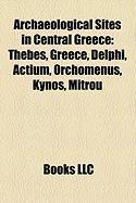 Archaeological Sites in Central Greece: Delphi