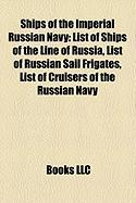Ships of the Imperial Russian Navy: List of Ships of the Line of Russia