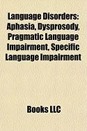 Language Disorders: Dysprosody