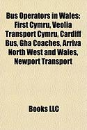 Bus Operators in Wales: First Cymru